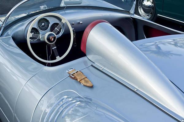 1955 Porsche Spyder Art Print featuring the photograph 1955 Porsche Spyder by Jill Reger