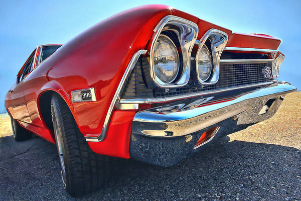 1968 Art Print featuring the photograph 1968 Chevy Chevelle Ss 396 by Gordon Dean II