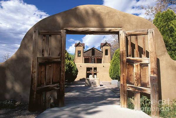Adobe Art Print featuring the photograph Chimayo by Chris Selby