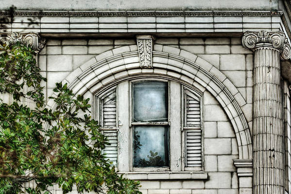 Window Art Print featuring the photograph Elegance In The French Quarter by Brenda Bryant
