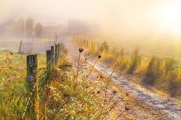 Appalachia Art Print featuring the photograph Good Morning Farm by Debra and Dave Vanderlaan