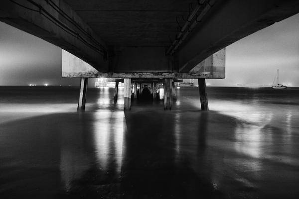 Bridge Art Print featuring the photograph Never Ending by Cesar Ponce