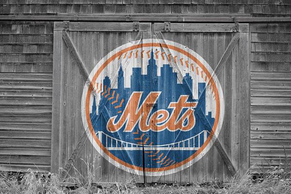Mets Art Print featuring the photograph New York Mets by Joe Hamilton
