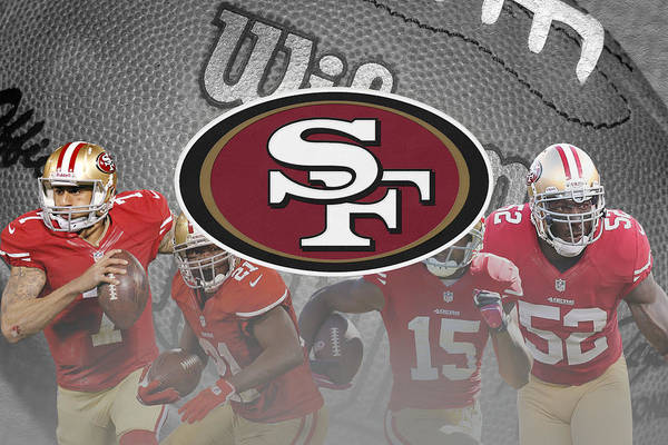 49ers Art Print featuring the photograph San Francisco 49ers by Joe Hamilton