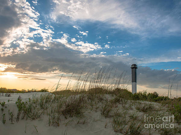 Lighthouse Art Print featuring the photograph Sc Lighthouse View by Dale Powell