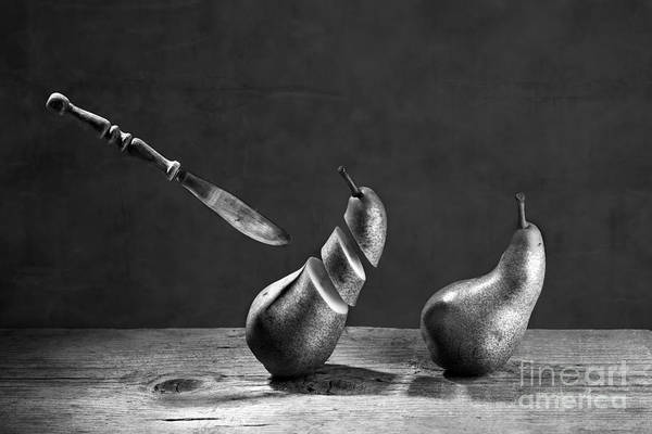 Pear Art Print featuring the photograph No Escape by Nailia Schwarz