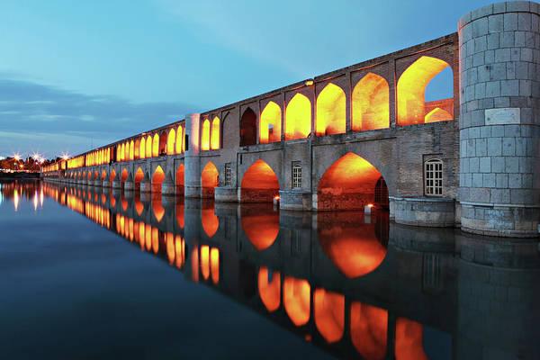Reflection Art Print featuring the photograph 33 Pol by Mohammadreza Momeni