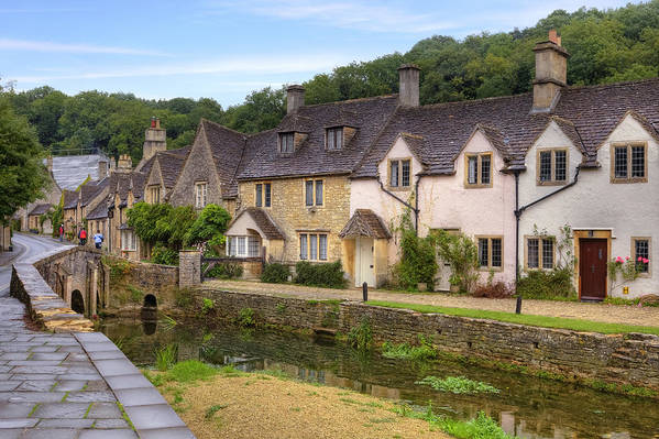 Castle Combe Art Print featuring the photograph Castle Combe by Joana Kruse