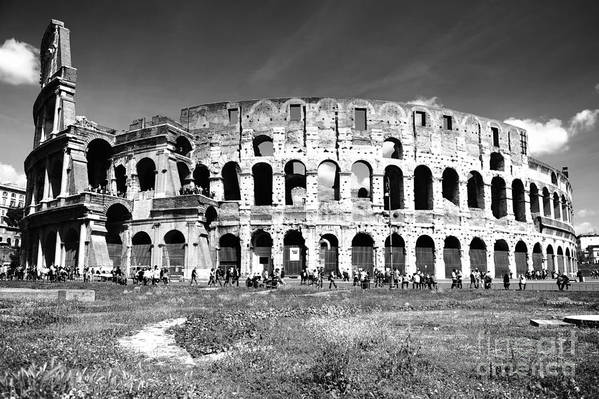 Rome Art Print featuring the photograph Colosseum by Stefano Senise