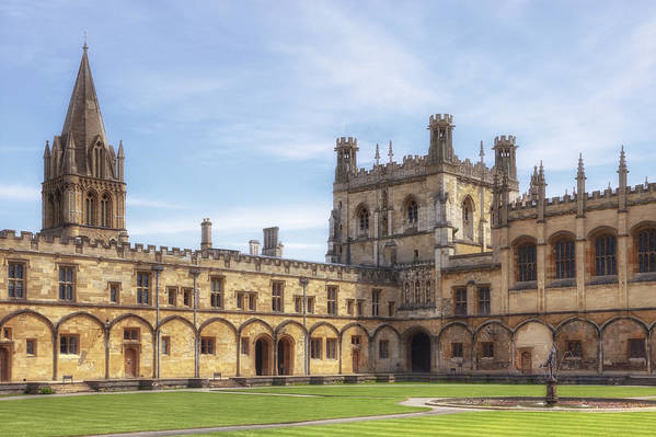 Christ Church College Art Print featuring the photograph Oxford by Joana Kruse