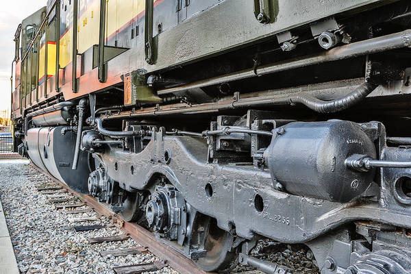 Hamlet Art Print featuring the photograph Seaboard Engine by Jimmy McDonald