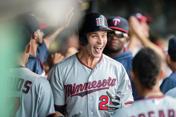 People Art Print featuring the photograph Minnesota Twins V Cleveland Indians 7 by Jason Miller