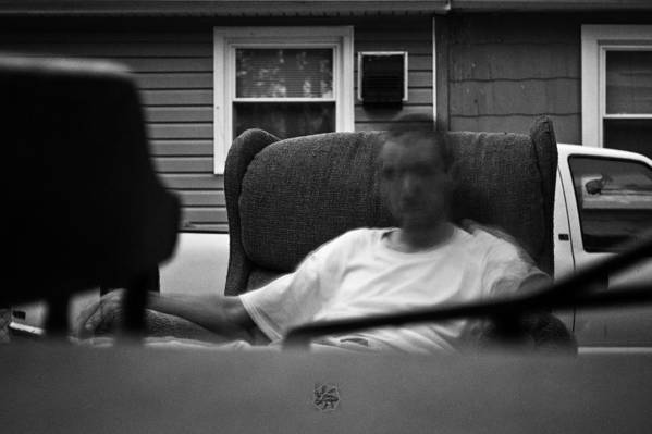 Ghost Art Print featuring the photograph A Ghostly Figure by Brian Archer