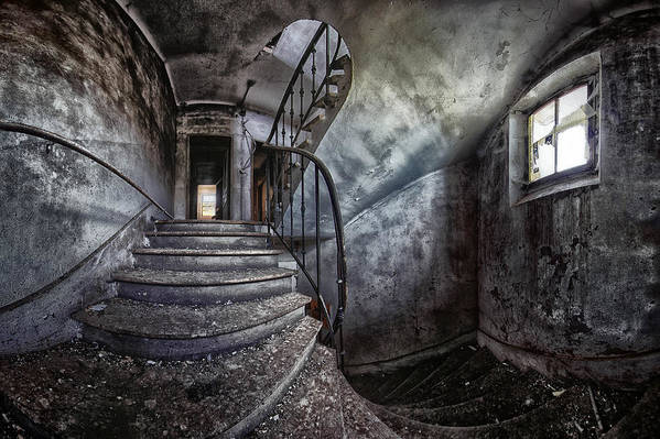 Abandoned Art Print featuring the photograph Abandoned House by Francois Casanova