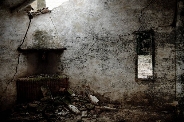 Grunge Art Print featuring the photograph Abandoned Little House 3 by RicardMN Photography