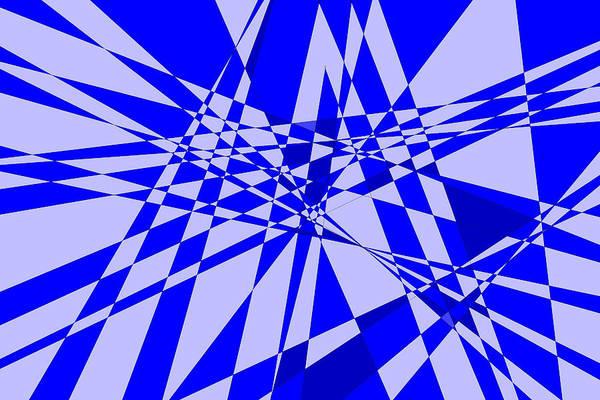 Original Art Print featuring the digital art Abstract 152 by J D Owen