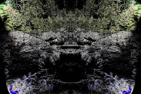 Art Print featuring the photograph Abstract Kingdom by Jeff Swan