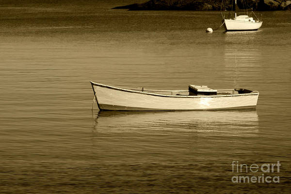 Boat Art Print featuring the photograph Afternoon Calm by Jayne Carney