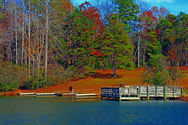 Waterscene Art Print featuring the photograph Ajsp Boat Ramp by Andy Lawless