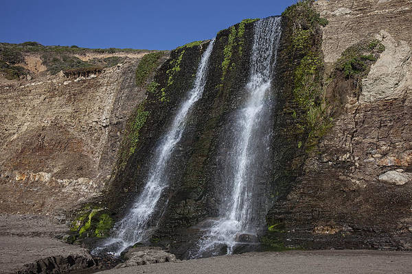 Alamere Falls Art Print featuring the photograph Alamere Falls Three by Garry Gay