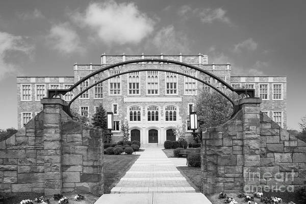 Albany Art Print featuring the photograph Albany Law School Gate by University Icons