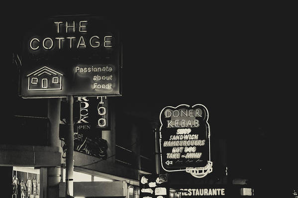 Street Art Print featuring the photograph Albufeira Street Series - The Cottage II by Marco Oliveira