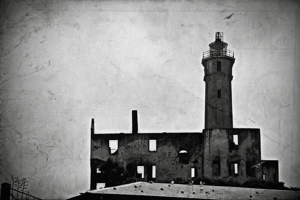 Alcatraz Island Art Print featuring the photograph Alcatraz Island Lighthouse by RicardMN Photography