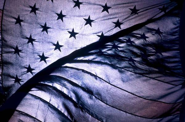 American Flag Art Print featuring the photograph American Flag by Scott Lenhart