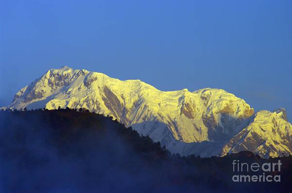 Annapurna South Art Print featuring the photograph Annapurna Dawn by Jacqi Elmslie