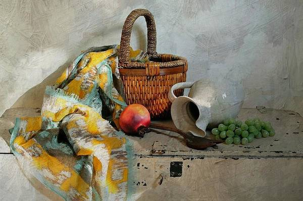 Still Life Art Print featuring the photograph Any Day by Diana Angstadt