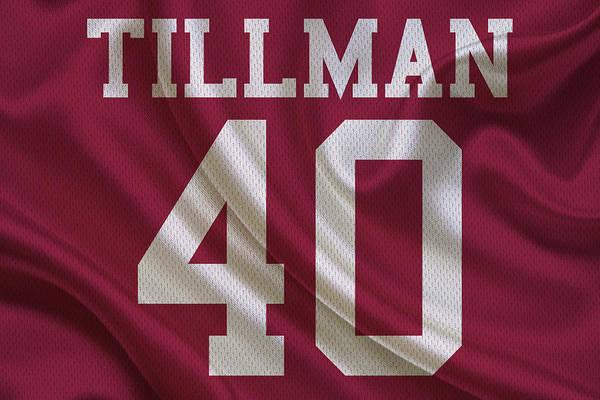 promo code a777a 704e8 Arizona Cardinals Pat Tillman Art Print
