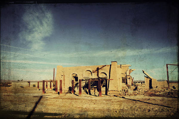Dilapidated Art Print featuring the photograph Ashes To Ashes by Laurie Search