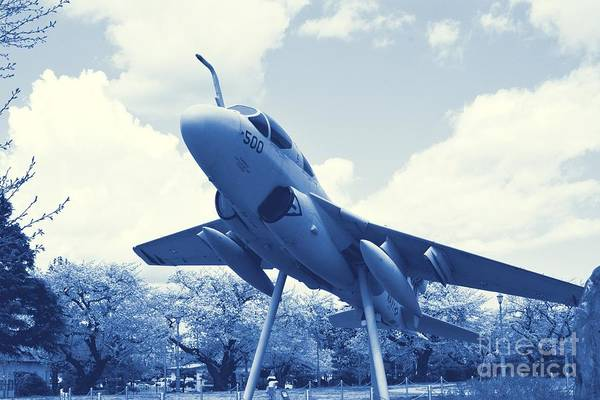 Atsugi Art Print featuring the photograph Atsugi Prowler H by Jay Mann