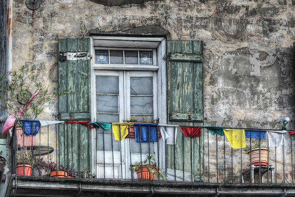 Balcony Art Print featuring the photograph Balcony View by Brenda Bryant