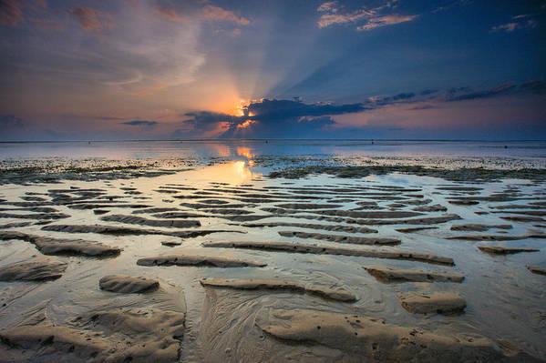 Bali Art Print featuring the photograph Bali Sunrise by Robert Aycock