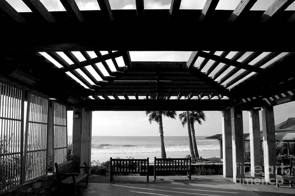 Architecture Art Print featuring the photograph Beach In Del Mar California by Julia Hiebaum