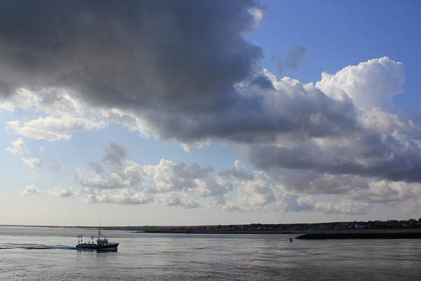 Cape Cod Canal Art Print featuring the photograph Beating The Storm by Amazing Jules