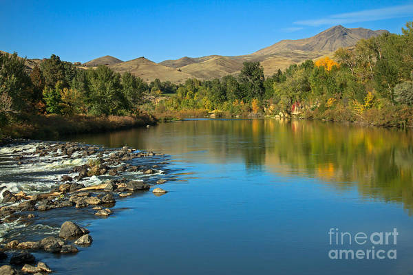 Idaho Art Print featuring the photograph Beautiful Payette River by Robert Bales