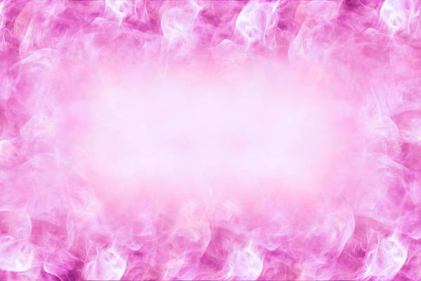 Beautiful Romantic Design Background With Space In The Center For Text Abstract Pink And White Colors Art Print