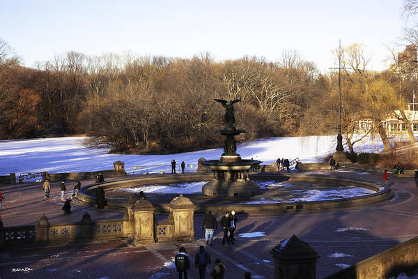 Bethesda Fountain Art Print featuring the photograph Bethesda Fountain 2013 - Central Park - Nyc by Madeline Ellis