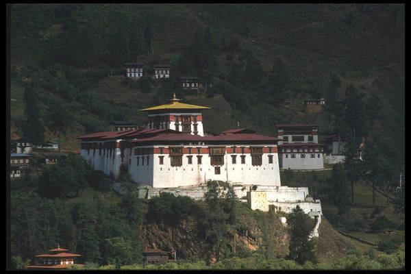 Bhutan Art Print featuring the photograph Bhutan by Richard Collyer