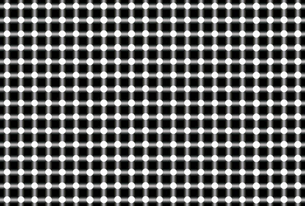 Illusion Art Print featuring the digital art Black And White Dots by Daniel Hagerman