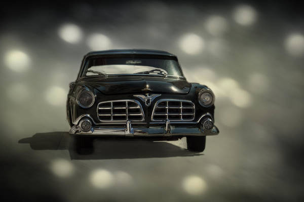 Car Art Print featuring the photograph Black Beauty by Mario Celzner