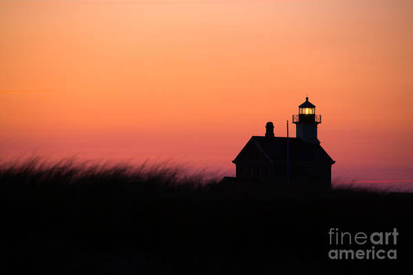 Lighthouse Art Print featuring the photograph Block Island North Lighthouse by Diane Diederich