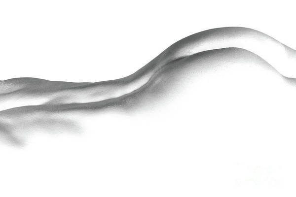 Body Art Print featuring the photograph Bodylines by Pit Hermann