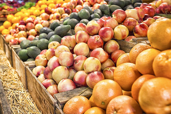 Fruit Art Print featuring the photograph Bounty by Caitlyn Grasso