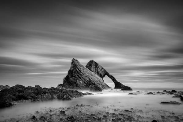 Bow Fiddle Rock Art Print featuring the photograph Bow Fiddle Rock 2 by Dave Bowman