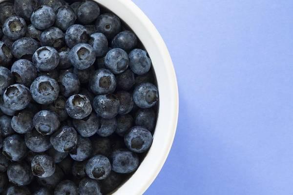 Antioxidants Art Print featuring the photograph Bowl Of Blueberries by Steven Raniszewski