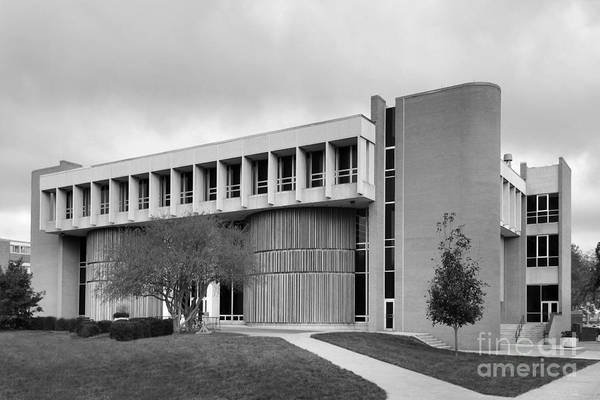 American Art Print featuring the photograph Bowling Green State University Math And Science by University Icons