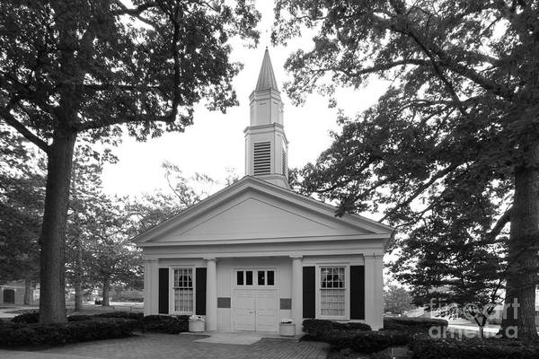 American Art Print featuring the photograph Bowling Green State University Prout Chapel by University Icons